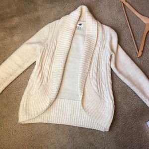 Ivory maternity sweater